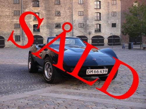 75 Corvette Cab.
